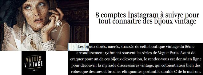instagram vintage vogue paris